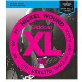 DADDARIO Senar Bass Nickel Wound Bass Double Ball End [ESXL-170] - Senar Bass